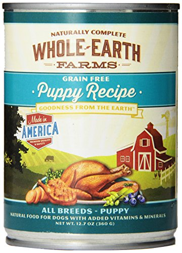Merrick Whole Earth Farms Grain-Free Puppy - 12 x 12.7 oz