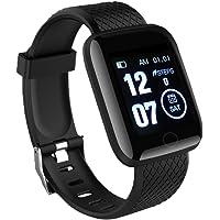 WZLOVE 116 PLUS Smart Watch, IP67 waterdichte sportfitnessarmband, kleurenscherm slimme armband, bloeddrukmeter voor fitnessactiviteit voor mannen, vrouwen