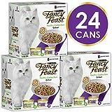 Fancy Feast Poultry Mix Wet Cat Food, 24 Can, 24X85g
