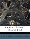 img - for Annual Report, Issues 1-12 book / textbook / text book