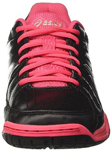 Mehrfarbig Damen Rouge Handball Schuhe Silver Black American Red Gel Asics Squad gaYYd