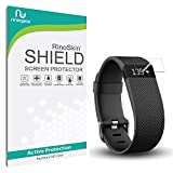 Fitbit Charge / Charge HR Screen Protector [10-PACK] [Military-Grade] RinoGear Premium HD Invisible Clear Shield w/ Lifetime Replacements
