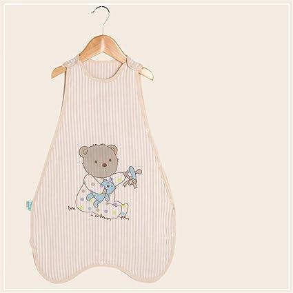 Sacos de dormir para bebé Sin mangas de verano Thin section Recién nacidos Algodón suave respirable