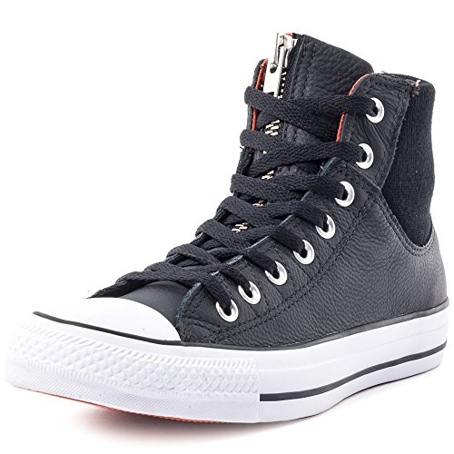 Converse Chucks CT AS MA 1 ZIP HI 151095C Schwarz Weiß
