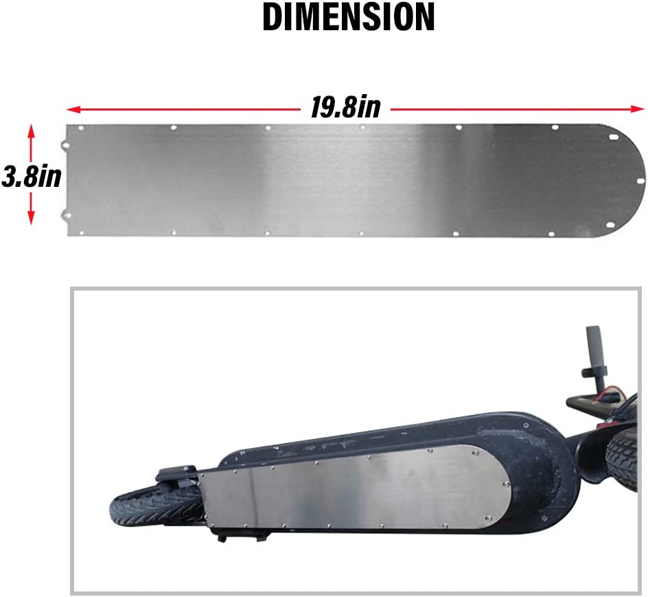 Atuka Bodenplatte Schutz wasserdicht Ring Dichtung elektroroller Boden batterieabdeckung f/ür xiaomi mijia m365 elektroroller