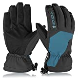 HiCool Ski Gloves, Waterproof Thermal Winter Ski Gloves Snowboard Snowmobile Motorcycle Cycling Outdoor Sports Gloves