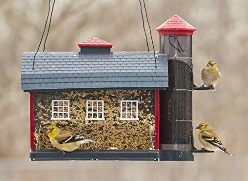Comedero para pájaros Audubon Red Barn Combo modelo 6290