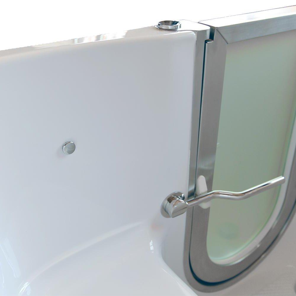 Ella AH3167-HB Petite Air Massage+Heated Seat Acrylic Walk-in ...