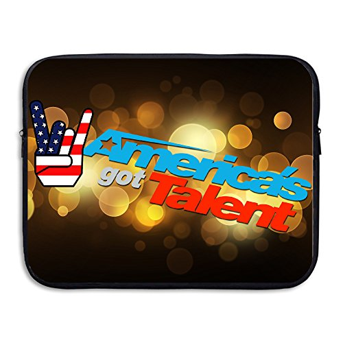 Custom New Design America's Got Talent Water-resistant Notebook Protective Case Bag 15 Inch