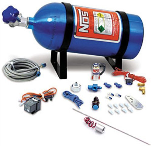 NOS 16028NOS Intimidator Illuminated LED Purge Kit w/5lb. Bottle (Nos Bottle)