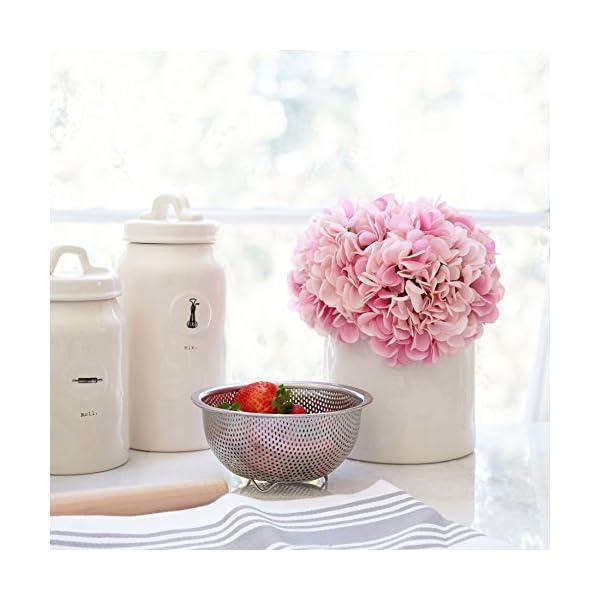 Butterfly-Craze-Artificial-Hydrangea-Silk-Flowers-for-Wedding-Bouquet-Flower-Arrangements-Pink-Color-5-Stems-per-Bundle