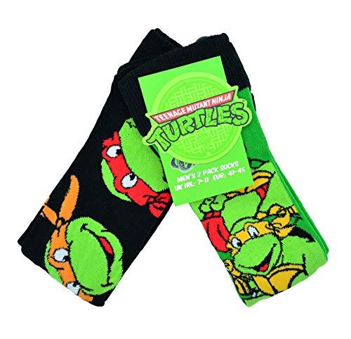 Teenage Mutant Ninja Turtles 2 Pack Socks ()