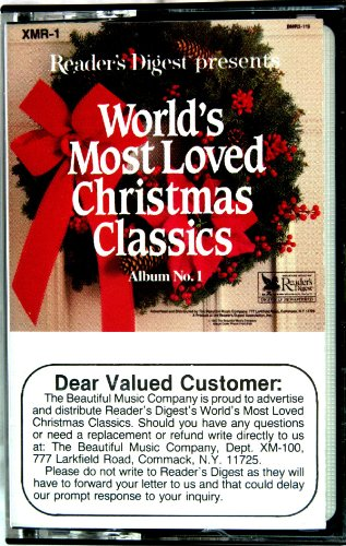 Reader's Digest Presents World's Most Loved Christms Classics Album No. 1