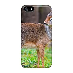 For Anglams Iphone Protective Case, High Quality For Iphone 5/5s A Lovely Dikdik Skin Case Cover