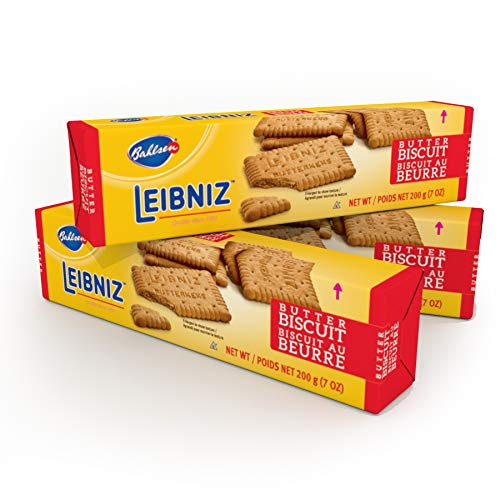 Bahlsen Leibniz Butter Biscuit Cookies (3 boxes) | Our classic original buttery biscuits (7 ounce boxes)
