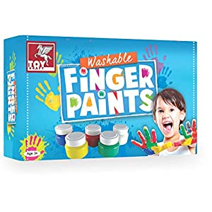 Toykraft: Non-Toxic Washable Finger Paints