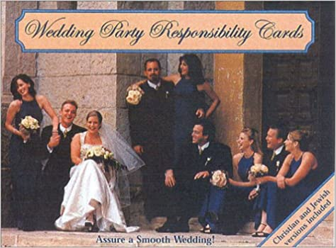 Buy Wedding Party Responsibility Cards Book Online at Low Prices ...
