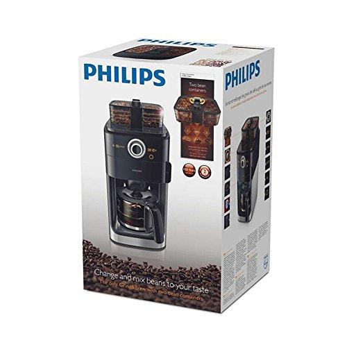 Philips Coffee Maker Grinder : Philips Coffee Maker Espresso Machine Grinder HD7761 Black 1.2L Drip Coffee 220V - Buy Online in ...