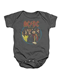 ACDC Highway To Hell Unisex Baby Snapsuit