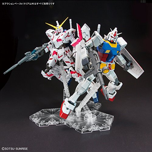 Gundam Action Base 1 Display Stand Clear for 1//100 Models Shipping Japan Import
