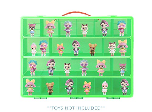 Storage Carrying Box For LOL Surprise Dolls. The Box Is Not Created By LOL Surpise! Figures Playset Organizer. Accessories For Kids by LMB (Worry Doll Box)