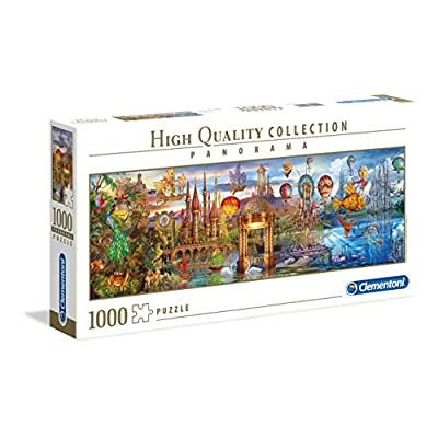 Clementoni Collection Panorama Puzzle Fantasy Panoramic 1000 Pezzi 39424