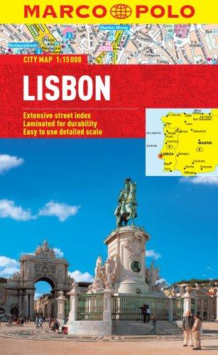 Lisbon Marco Polo City Map (Marco Polo City Maps)