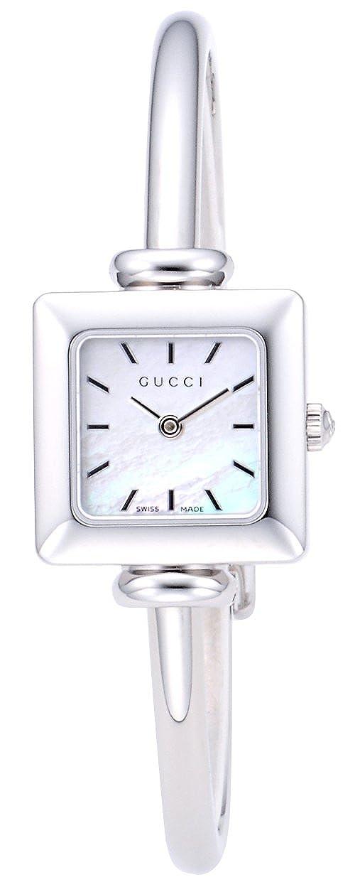 50d0f8528b3e Amazon   [グッチ]GUCCI 腕時計 1900 ホワイトパール文字盤 YA019518 レディース [並行輸入品]    並行輸入品・逆輸入品・中古品(レディース)   腕時計 通販