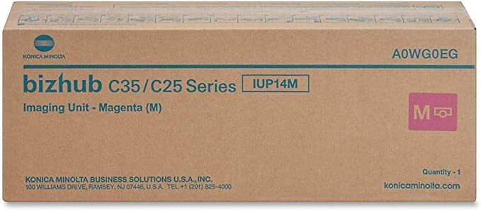 A0WG0KG IUP14C Genuine Konica Minolta Cyan Imaging Unit for Bizhub C35 C25