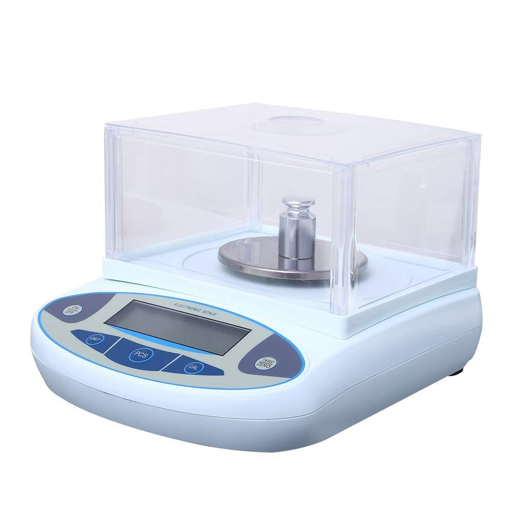 InLoveArts 0.001g /échelle de laboratoire pr/écision de balance analytique balance de laboratoire /électronique balance de pesage balance de bijoux balances(200//300//500g)