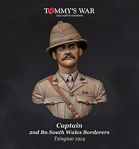 tommys-war-110-bust-captain-2nd-bn-swhales-borderers-tsingtao-1914-tw10b02