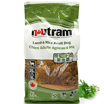 Nutram Dog Food Lamb And Rice 15 Kg Amazon Co Uk Pet Supplies