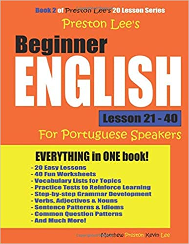 Amazon com: Preston Lee's Beginner English Lesson 21 - 40
