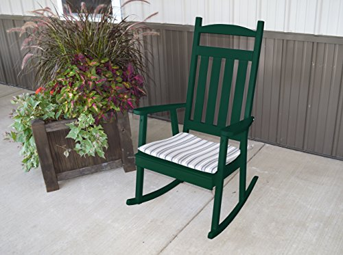 ASPEN TREE INTERIORS Porch Rocking Chair,Classic Living Room Patio Deck Outdoor Furniture, Rocker Country Decor to Contemporary, Amish US Made in 9 Fun Color Choices