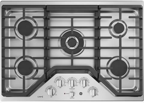 ge 30 gas 5 burner cooktop - 5