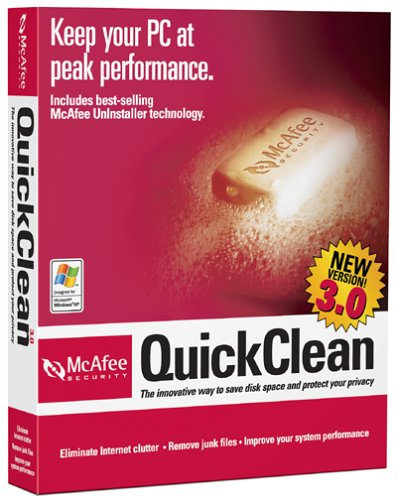 McAfee QuickClean 3.0
