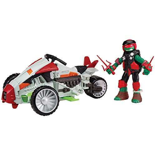 Teenage Mutant Ninja Turtles Mutating Tri-Flyer with Raphael Vehicle (Teenage Mutant Ninja Turtles Bad Guys)