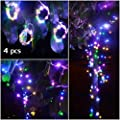Abkshine 4 Pack 50 LEDs Mini Fairy Lights