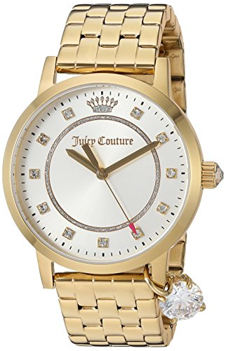Juicy Couture Women's 'Socialite' Quartz Tone and Gold Plated Quartz Watch(Model: 1901475)