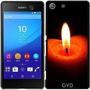 Funda para Sony Xperia M5 - Fuego Vela De Navidad by WonderfulDreamPicture