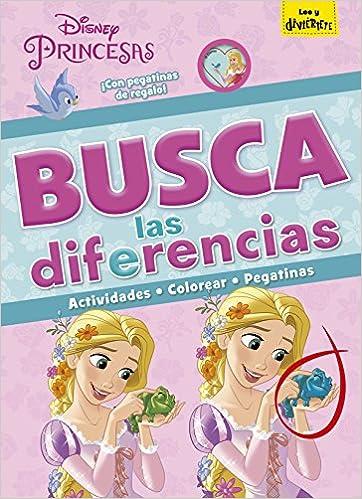 Busca las diferencias (Disney. Princesas): Amazon.es: Disney, Editorial Planeta S. A.: Libros
