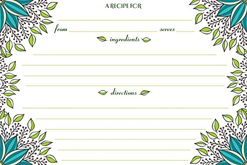 Meadowsweet Kitchens Count Recipe Card product image