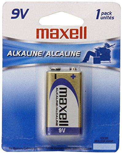 (New Gold Series 9 Volt Alkaline Battery Retail Pack Single Cardboard Card Peg Hook by)