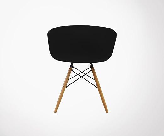 Meubles & Design 4 sillones Estilo nórdico Ray - Color ...