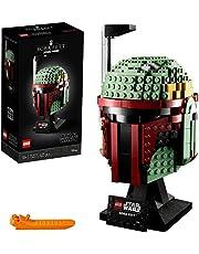 LEGO Star Wars Hełm Boby Fetta 75277 — zestaw konstrukcyjny, fajny model kolekcjonerski Star Wars do zbudowania (625 elementów)