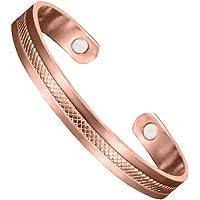 Pure Copper Magnetic Bracelet Copper Bracelet for Women and Men-Brush Copper