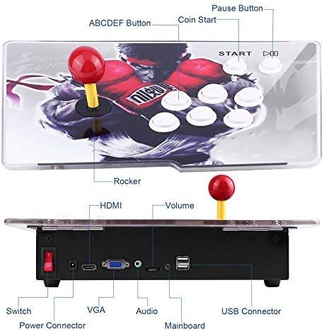Multi-Game 846 Game in One Family Box con una Sola máquina de Juegos para el hogar Joystick Blanco: Amazon.es: Hogar