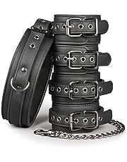 EasyToys Fetish Collection - halsband voor SM van robuust kunstleer