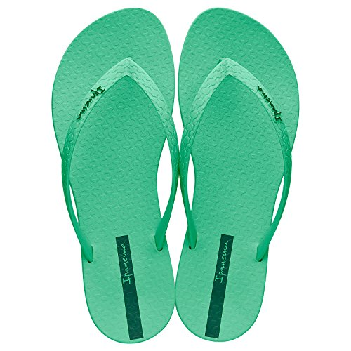 Ipanema  Wave, Tongs pour femme vert Green