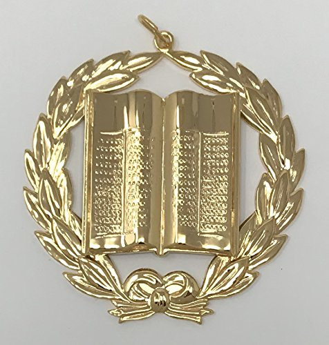 Freemason Grand Lecturer Collar Jewel in Gold Tone